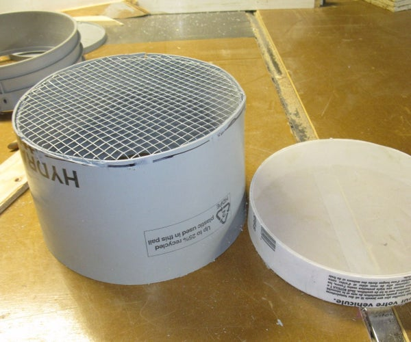 Sieves From 5 Gal Plastic Buckets