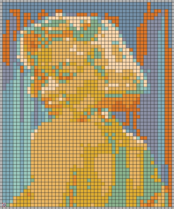 Easy Post-It / sticky note mosaics using free software.