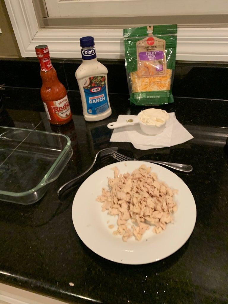 Step 1: Cook Chicken