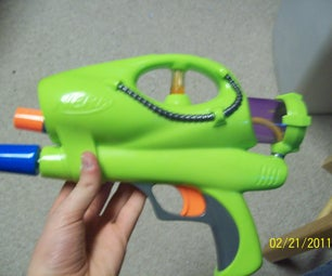 Airtech 2000 Nerf Gun Modification