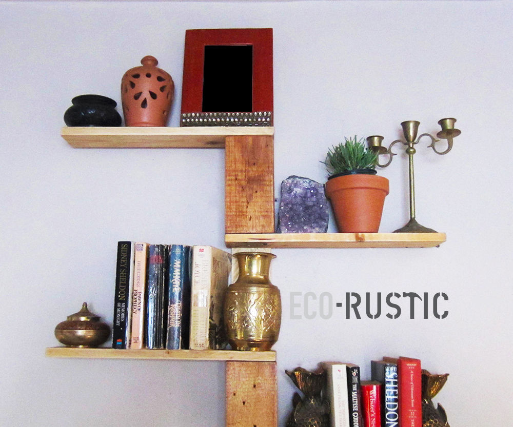 DIY PALLET WOOD TREE SHELF TUTORIAL