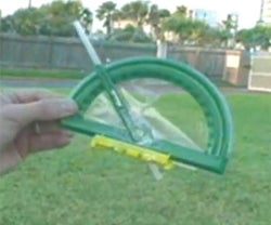 Make a Height Measuring Tool.