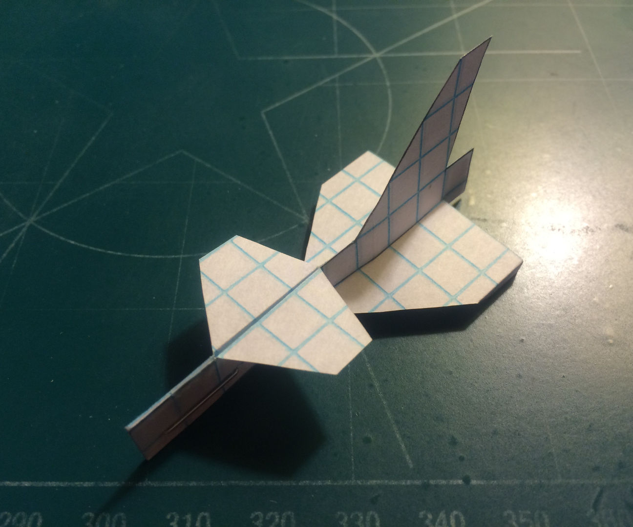 How To Make The Fang Paper Airplane