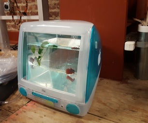 DIY IMac Fish Tank