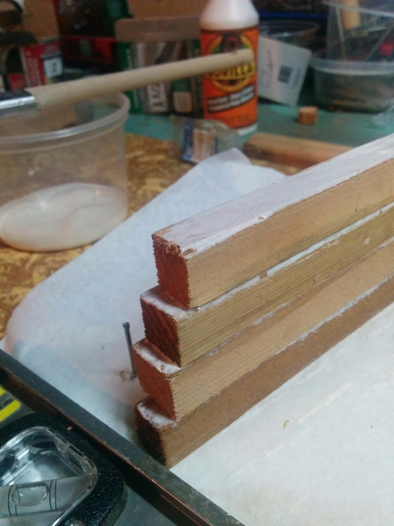Glue the Strips Together
