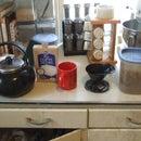 (slightly) greener way of brewing coffee