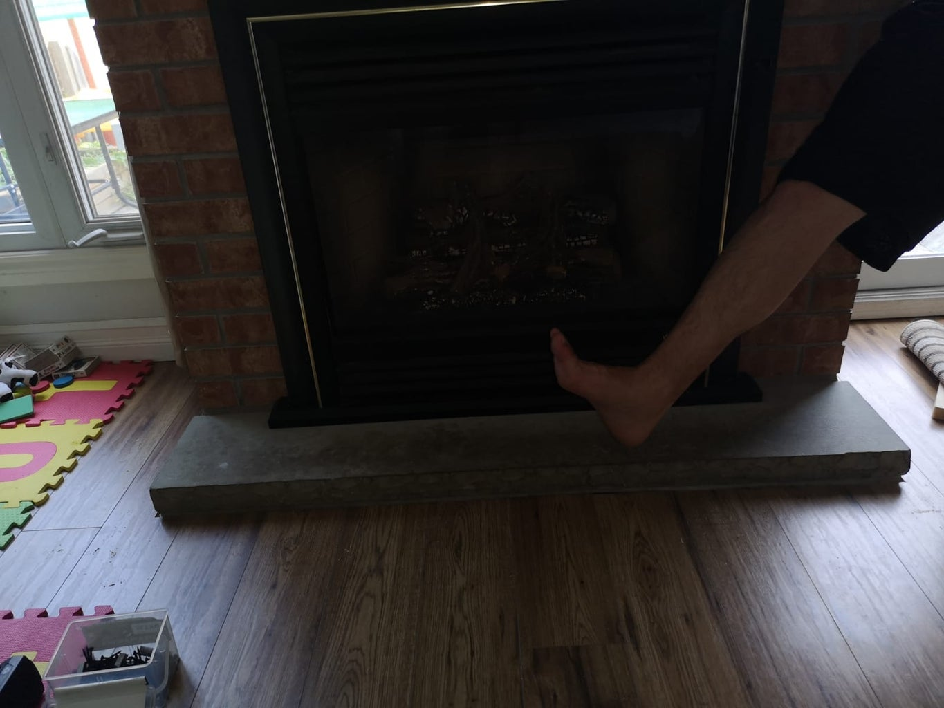 Baby Proof Fireplace
