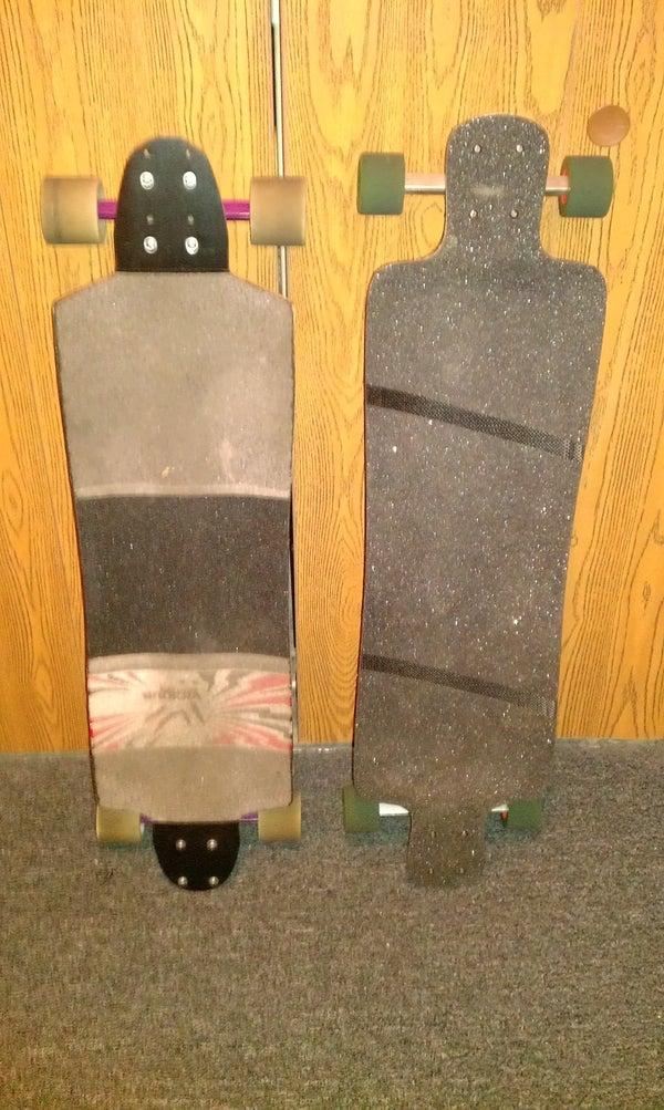 Grip Your Longboard Deck!