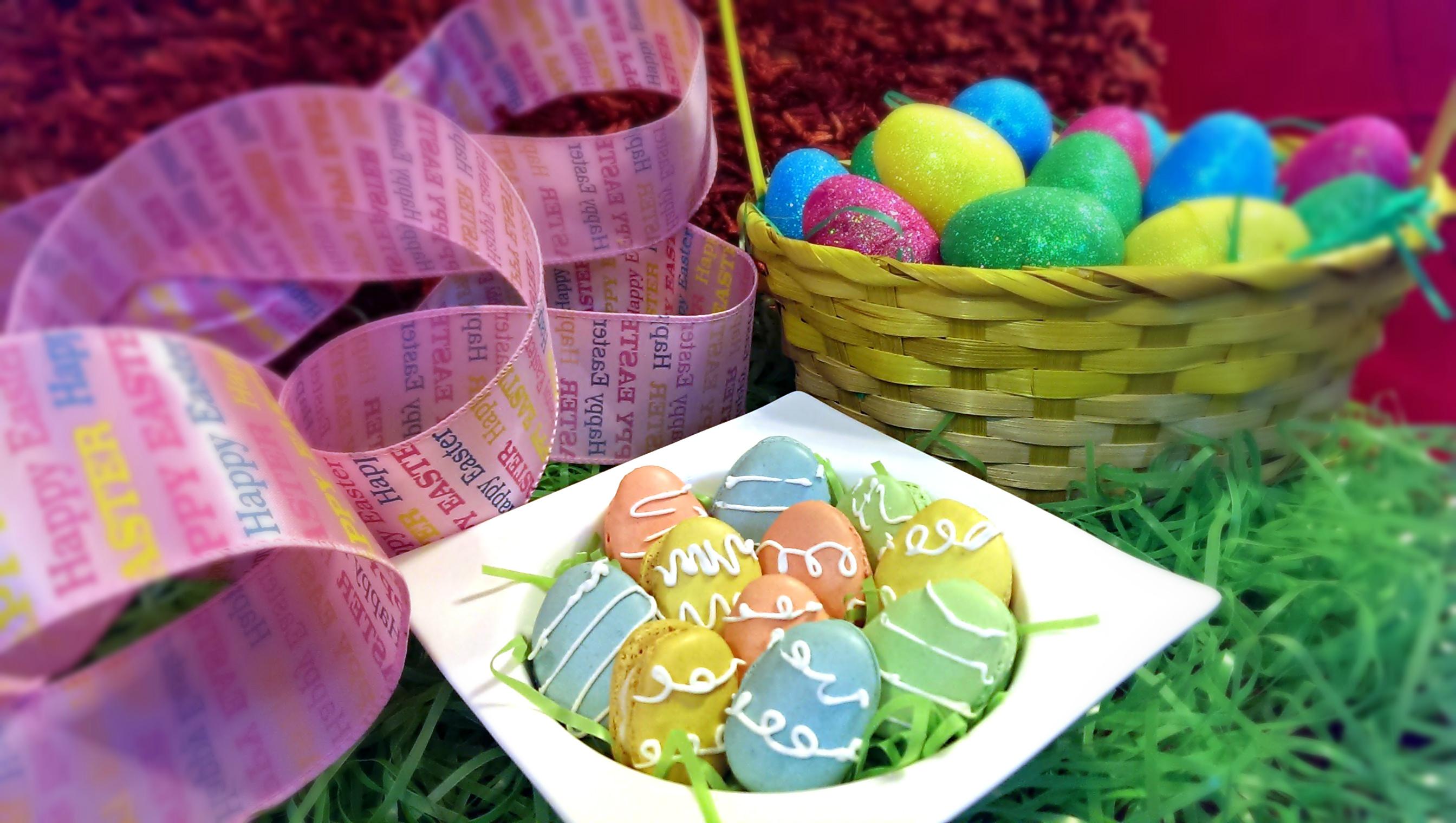 Easter Egg Macarons   Josh Pan