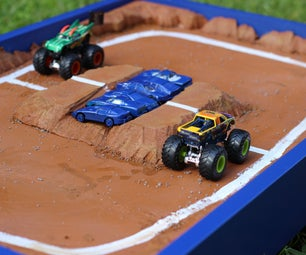 Toy Monster Truck Arena