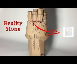 Control a Light Switch With Your Own Cardboard Infinity Gauntlet