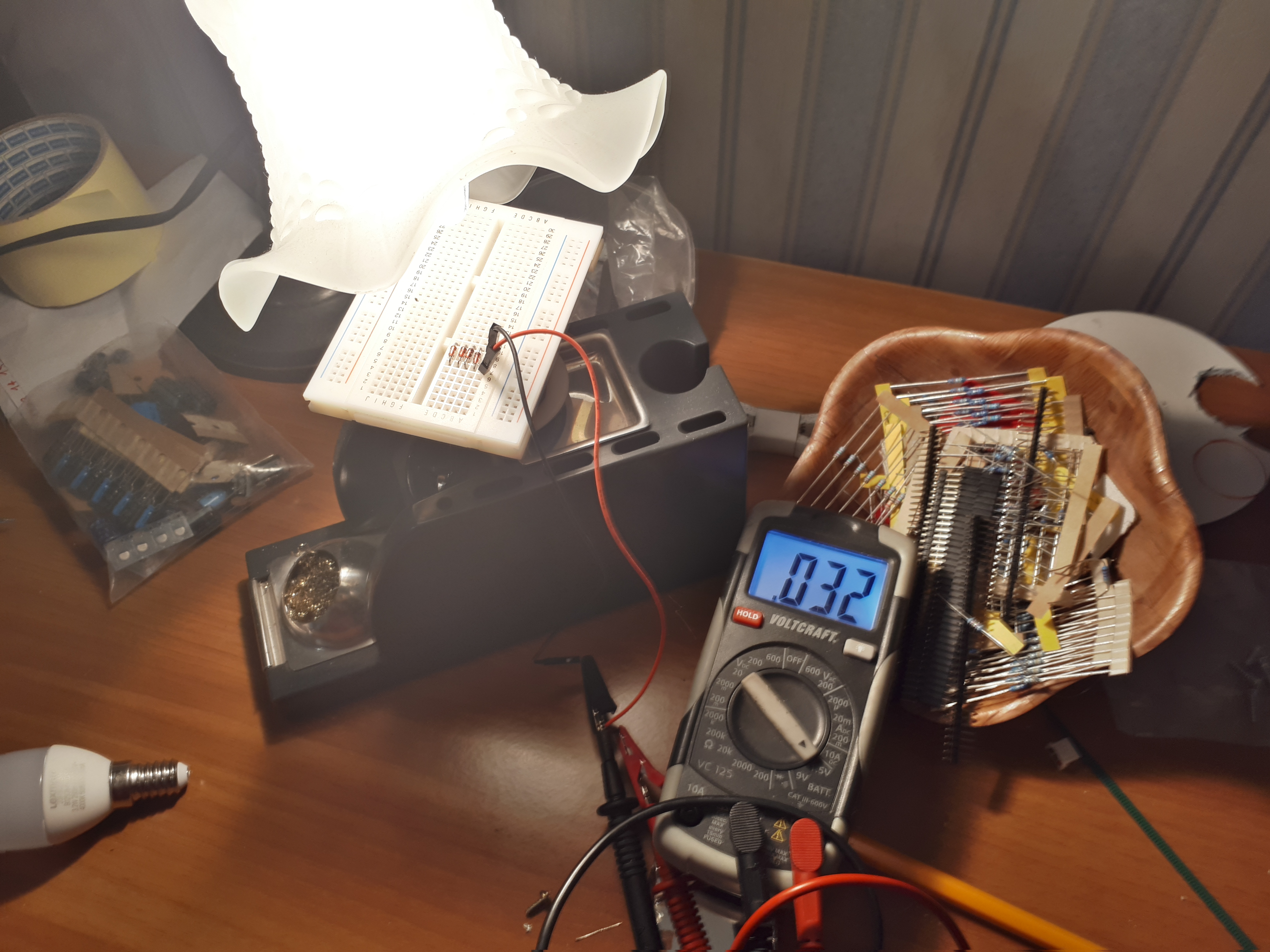 Make a Solar Panel Using Diodes!