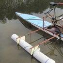 Una bicicleta de hidroala