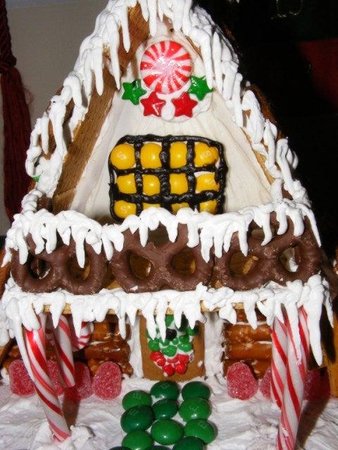 Gingerbread A-Frame Ski House