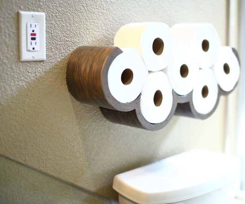 Cloud Toilet Paper Storage