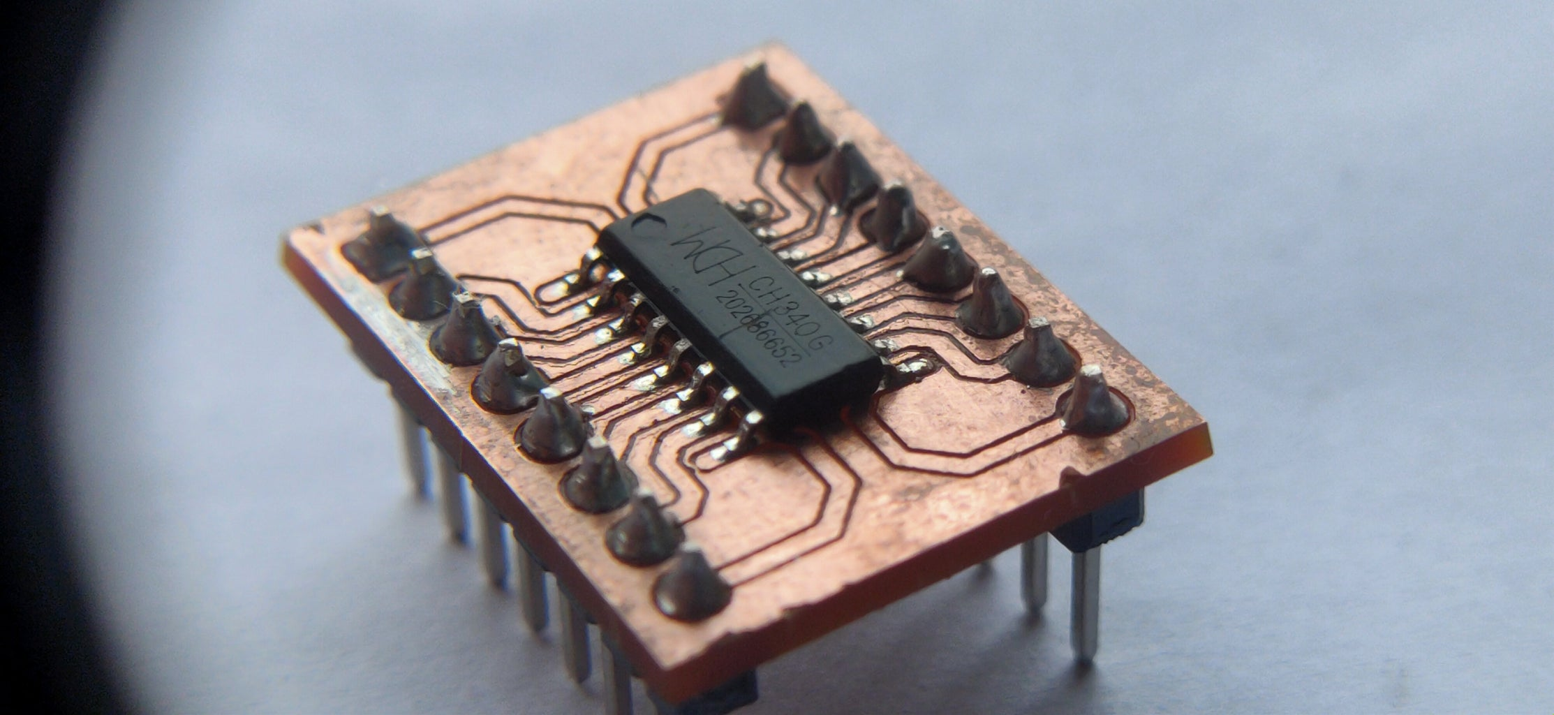 The CH340 SMD to DIP Adapter Board