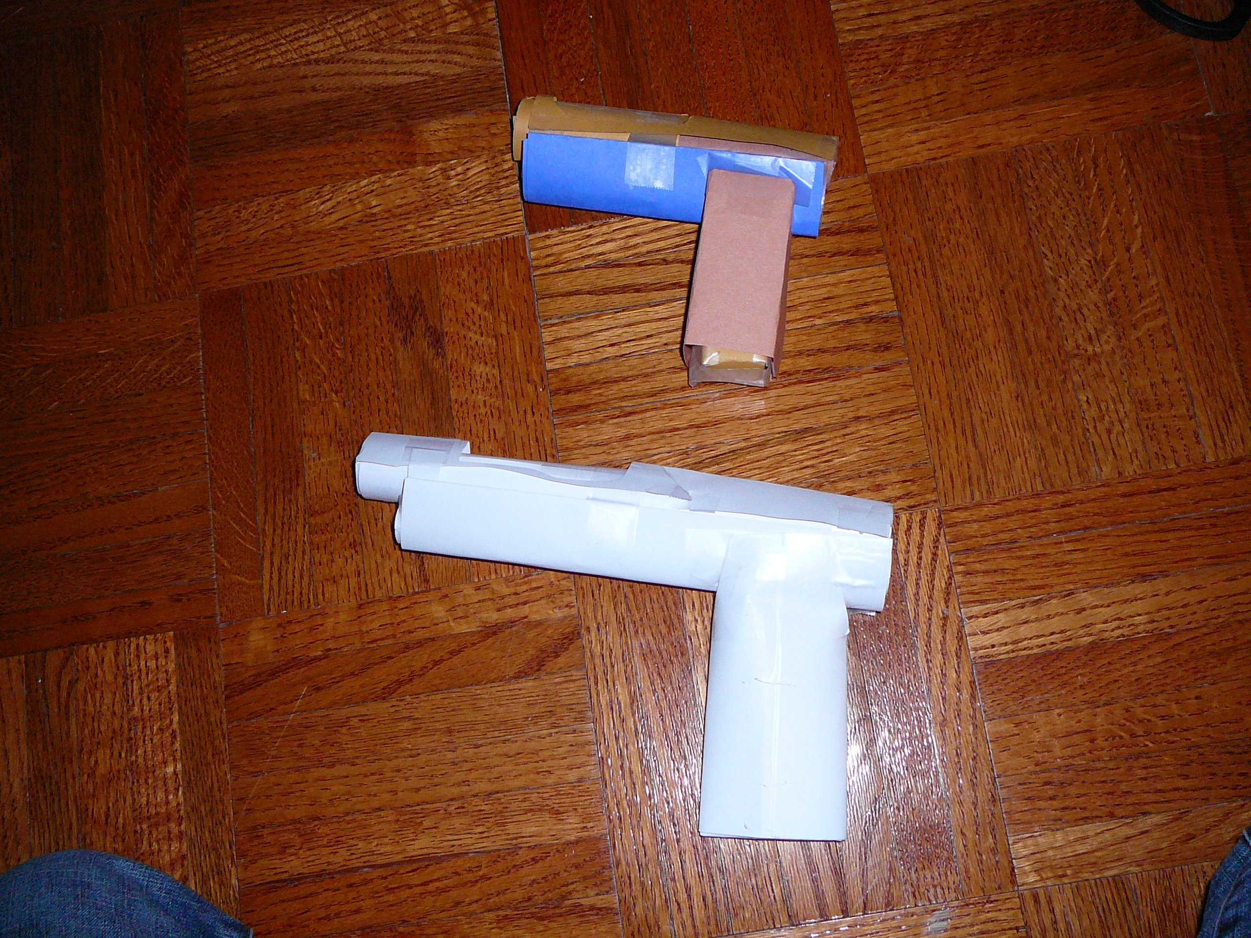 How to make Undermig paper pistol gun.