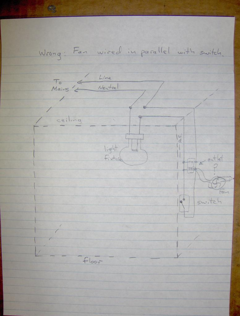 ceiling fan heater wiring diagram wiring up a bathroom exhaust fan how to  instructables  wiring up a bathroom exhaust fan how to