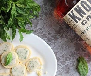 Mint Julep Cocktail Cookies