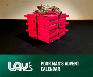 2 DIY Poor Man's Advent Calendar