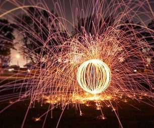 HOW TO: ORB STEEL WOOL PHOTOGRAPHY