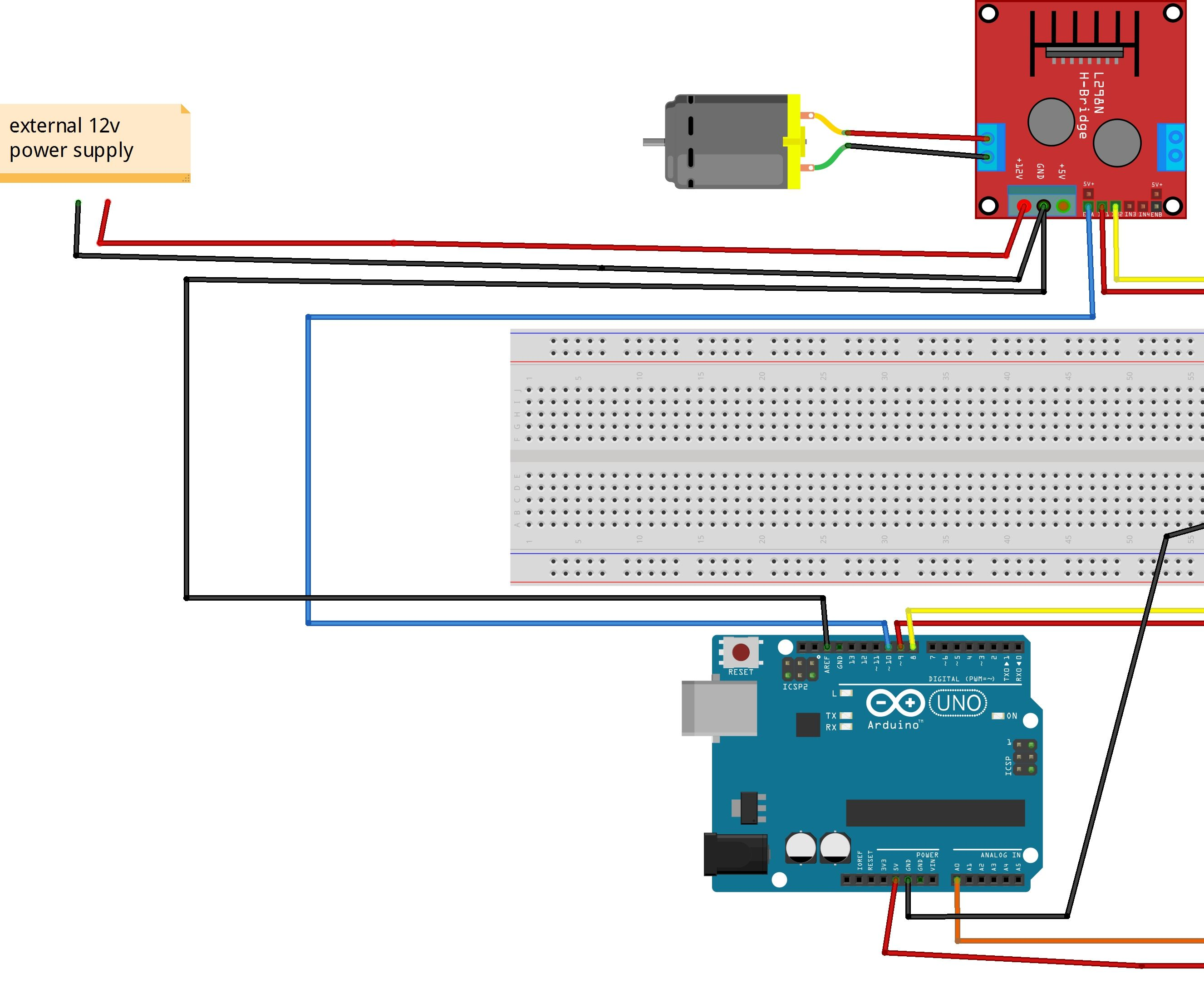 How to Control Speed of Motor Using Arduino and Potentiometer