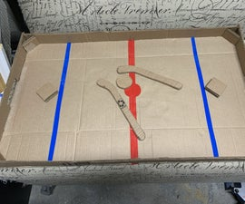 Cardboard Nok Hockey!