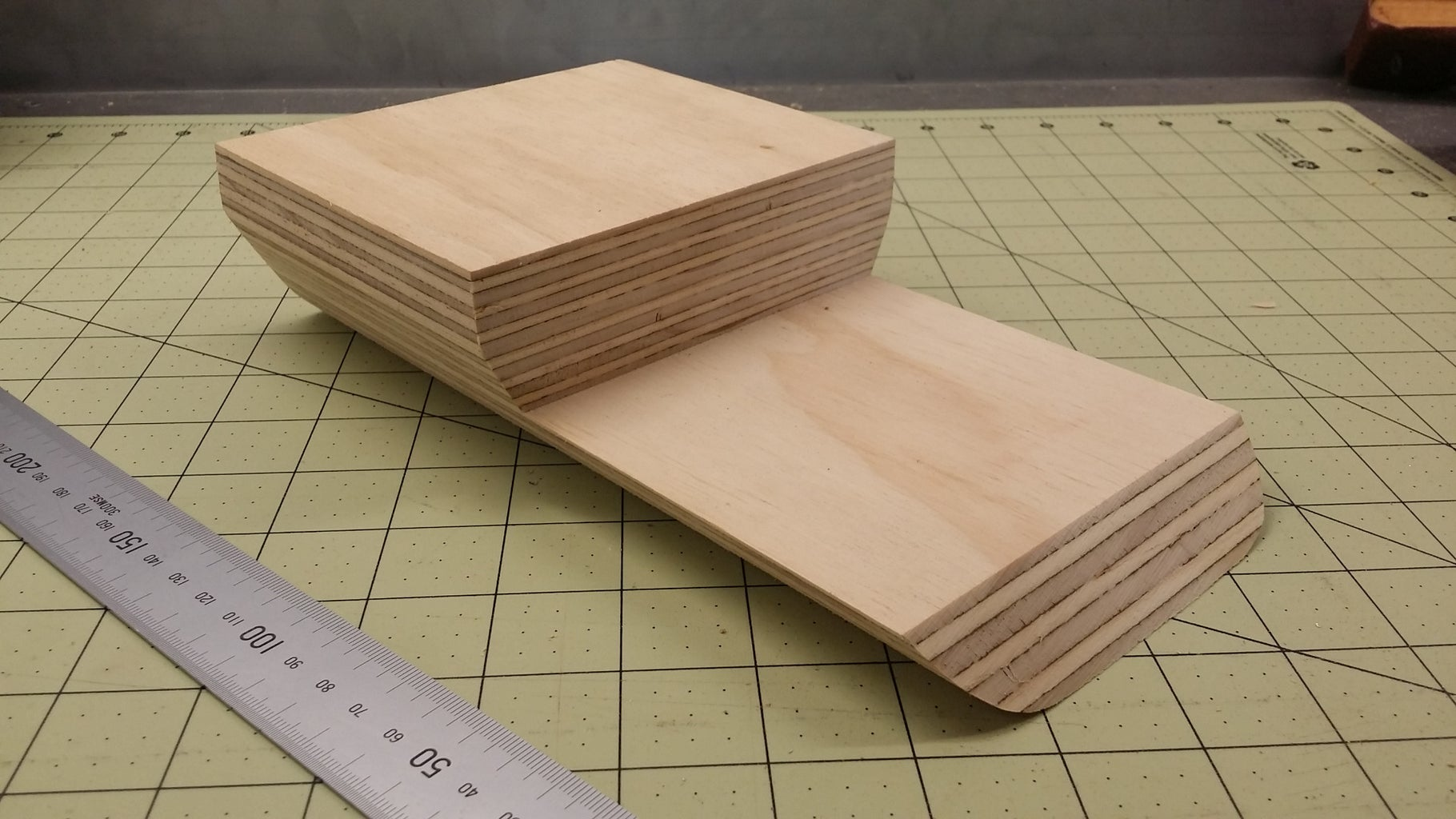 Timber Backbone and Plywood Templates