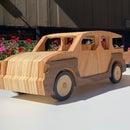 CNC木制车玩具