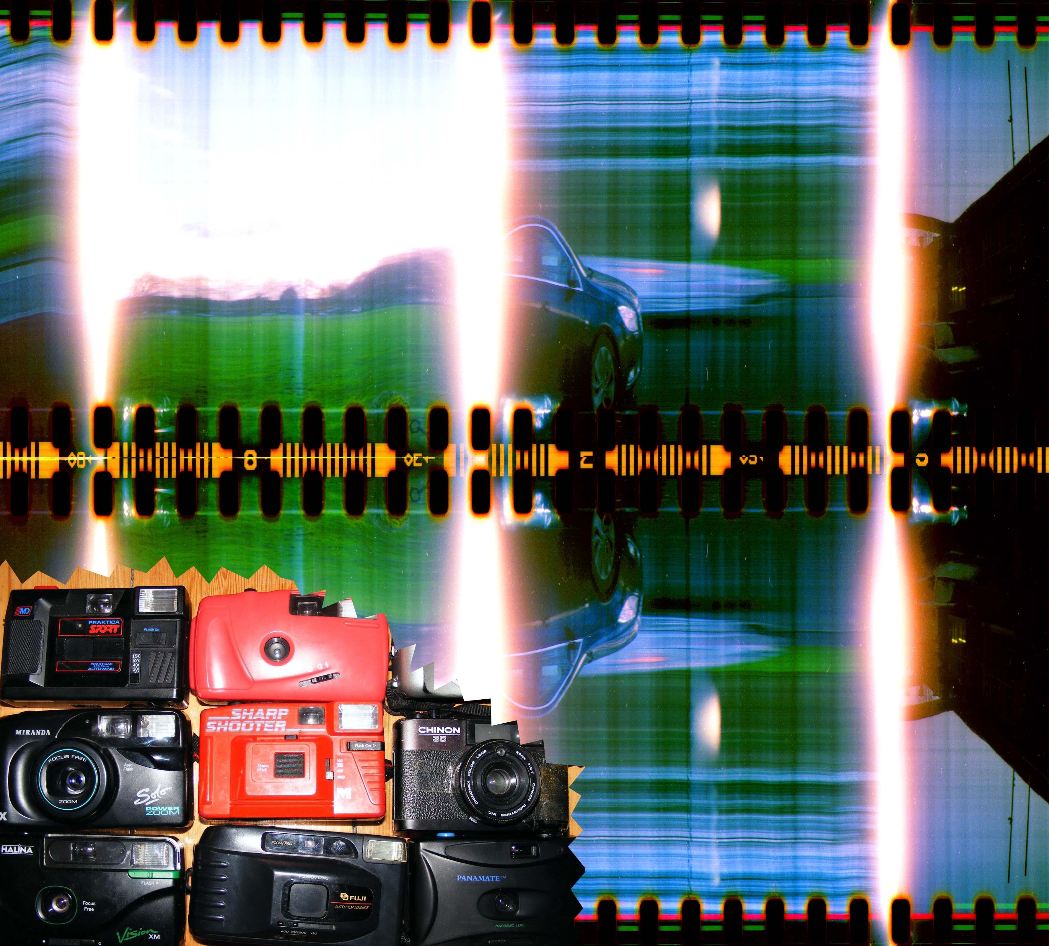 plastic camera slit scan conversion