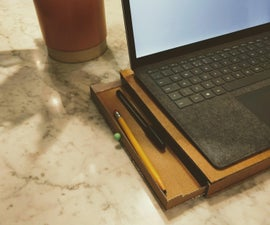 Laptop Stand With Storage