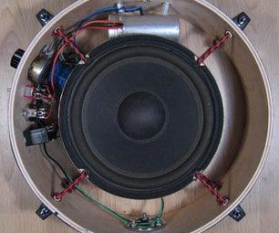 如何用扬声器制作麦克风。