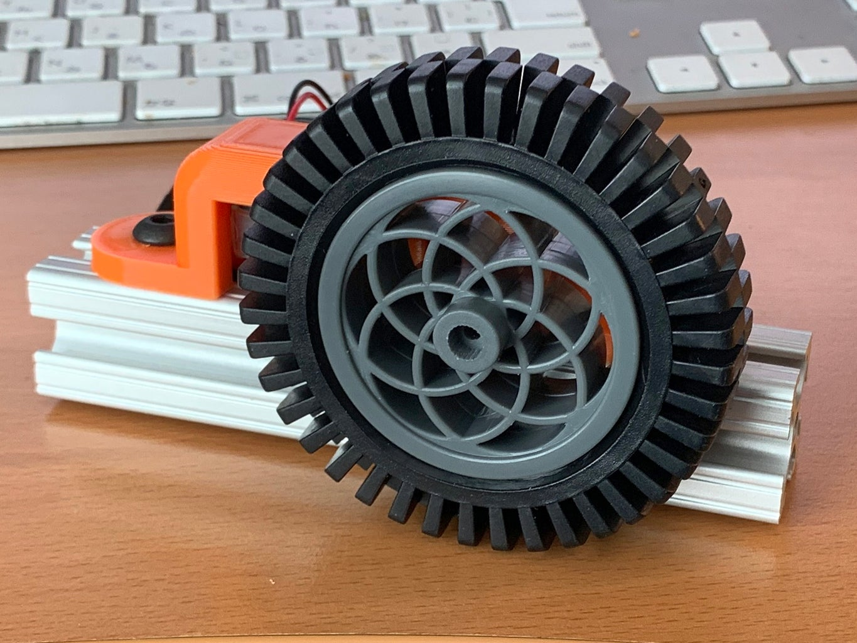 Assemble the TT Motors and Wheels