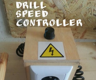 Drill Speed Controller