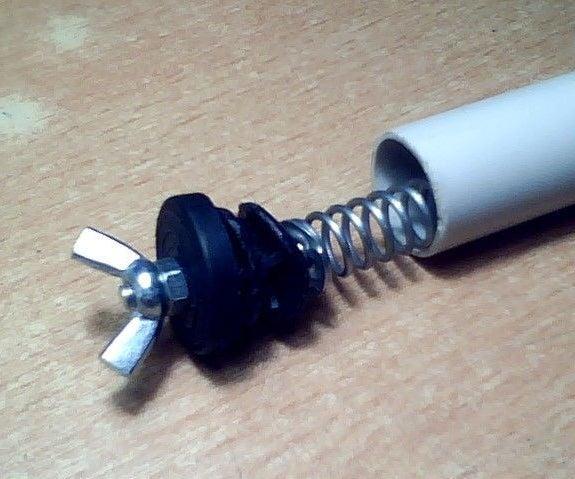 PVC Tube AA Battery Holder