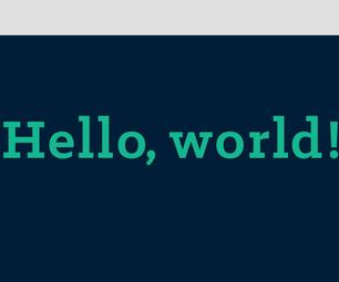 Java - Hello World!