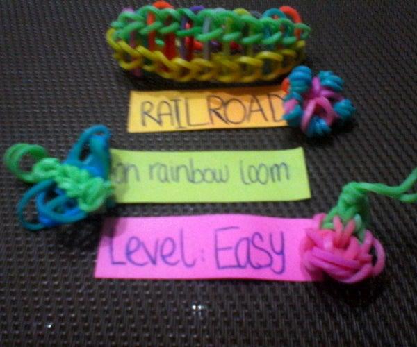 Rainbow Loom: Railroad