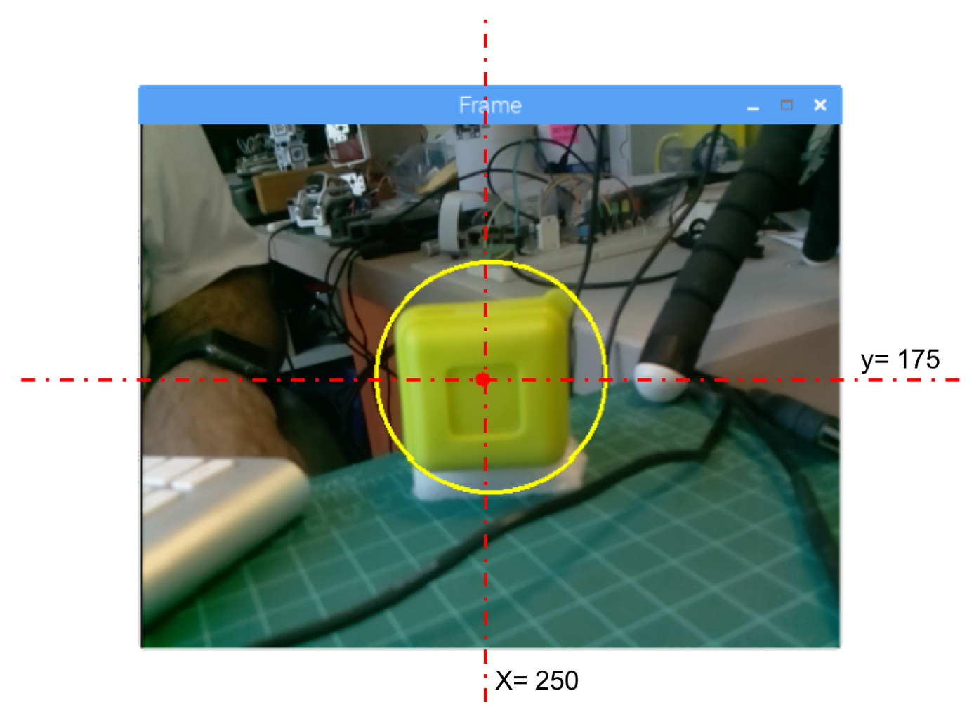 Finding the Object Realtime Position