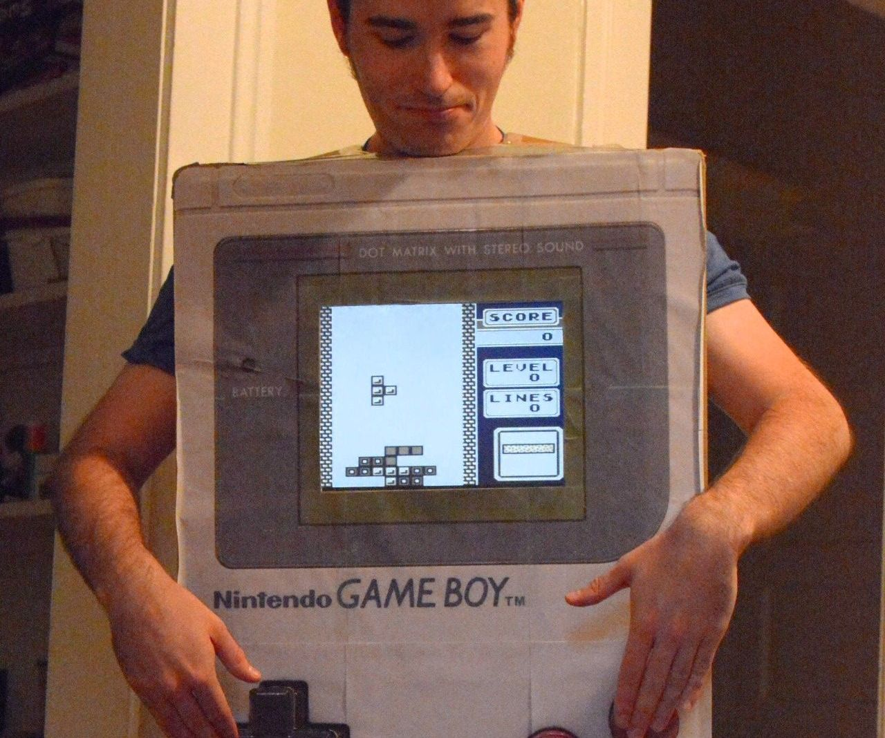 Playable Giant Gameboy Costume