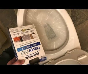 How to Create a HYDROPHOBIC Self Cleaning Toilet!!!