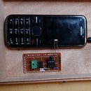 Home automation with ATTiny and mobile phone