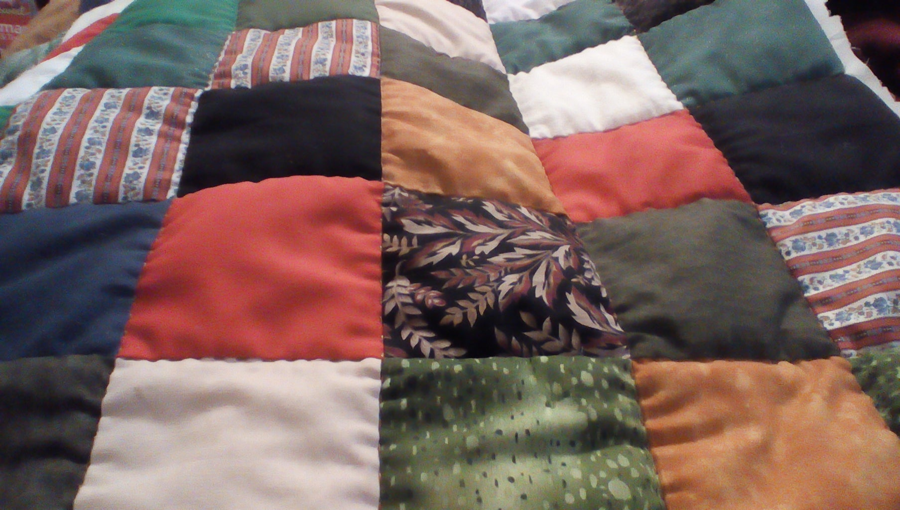 The Actual Quilting