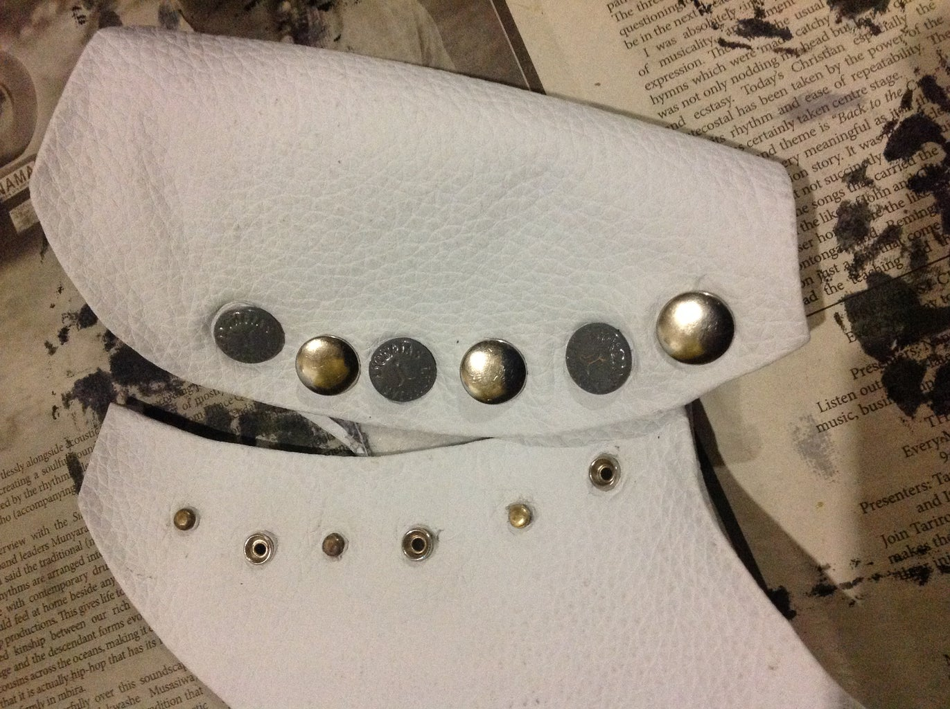 Adding the Rivet Buttons