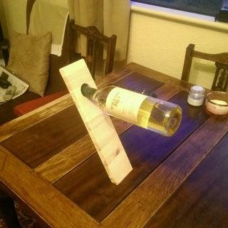 How to Make a Floating Wine Bottle Holder