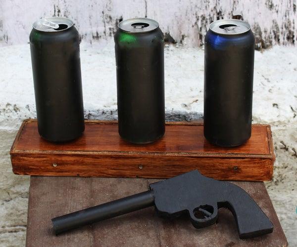 Cowboy Toy - Arduino Laser Target