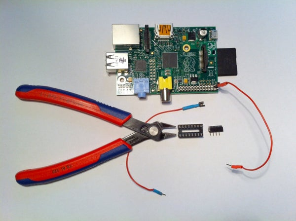 Female Headers for Raspberry Pi GPIO Pins From IC Sockets