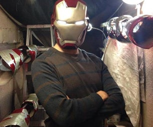 IRON MAN 3 MK42 Suit