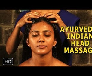 Ayurvedic Indian Head Massage - Siro Abhyangam - Oil Massage for Brain & Nervous System