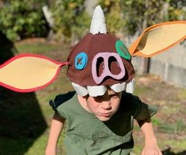 Bokoblin Mask From the Legend of Zelda Breath of the Wild