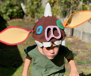 Bokoblin Mask From the Legend of Zelda Breath of the Wild